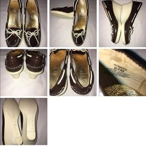 Sperry Top-Sider Shoreham wedges Leather SZ 6.5